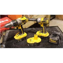"DEWALT 1/2"" CORDLESS IMPACT WRENCH, SOLD W/"