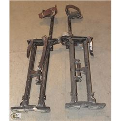 SET OF DRYWALL STILTS