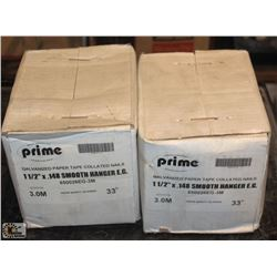 "2 BOXES OF VALMONT PRIME 1 1/2"" X .148 GALVANIZED"