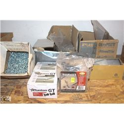 LOT OF ASSORTED FASTENERS