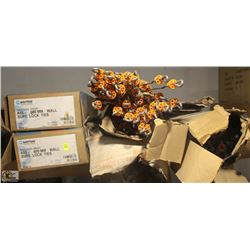 APPROX. 5 BOXES OF WALL SURELOCK TIES