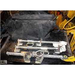 3 SALA GLYDER 2 SLIDING BEAM ANCHORS IN DUFFLE