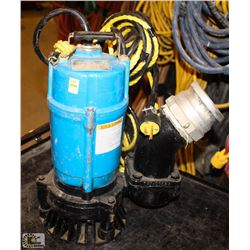 TSURUIM PUMP 1 HP SUBMERSIBLE PUMP