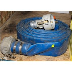 "ROLL OF 3"" WATER HOSE"