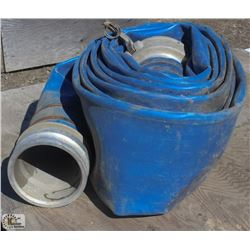 "ROLL OF 8"" WATER HOSE"