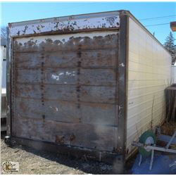 20 FOOT STORAGE CONTAINER W/ PULL DOWN DOOR