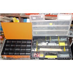 STANLEY 26 COMPARTMENT ORGANIZER W/ CONTENTS