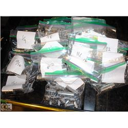 20 BAGS OF ASSORTED SAE SOCKETS