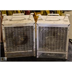 LOT OF 2 INDUSTRIAL 4800WATT HEATERS