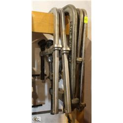 LOT OF 5 BESSEY CLAMPS