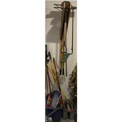 LOT OF ASSORTED CLEANING TOOLS & MORE