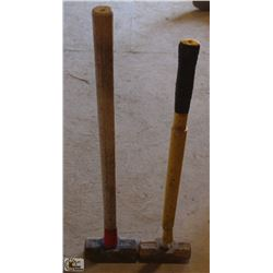 LOT OF 2 SLEDGE HAMMER