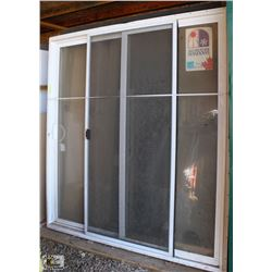 NEW SLIDING GLASS PATIO DOOR
