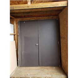 STEEL FRAME W/ DOUBLE DOOR