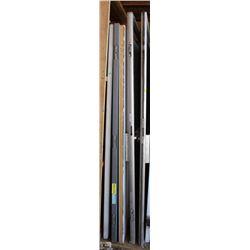 LOT OF 5 ASSORTED METAL DOORS