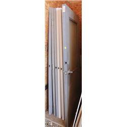 LOT OF 7 ASSORTED METAL DOORS