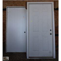 LOT OF 5 FRAMED DOORS