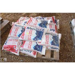 21 BAGS OF SAND & SALT 10 KG BAGS