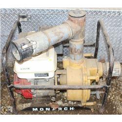 HONDA 9.0 HP WATER PUMP