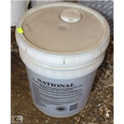 5 GALLON PAIL OF ANTI-WEAR HYDRAULIC OIL
