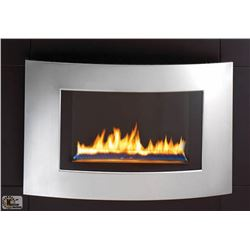 NEW IN BOX WALL MOUNTED FIREPLACE