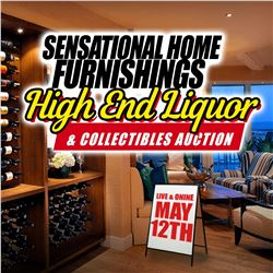 SIGN UP EARLY FOR MAY 12TH SENSATIONAL HOME