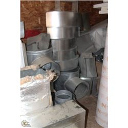 LARGE LOT OF ASSORTED DUCTING