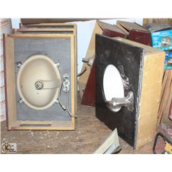 LOT OF 6 ASSORTED SINKS