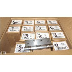 BOX OF NEW STANLEY DOOR HINGES
