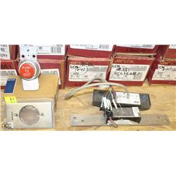 SCHLAGE ELECTRIC EXIT PUSH BUTTON, ELECTRIC