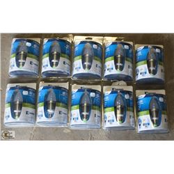 10 ENDURANCE DIMMABLE 4 WATT LED BULBS
