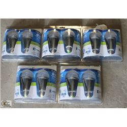 LOT OF 5 TWO PACK OF ENDURANCE DIMMABLE 4 WATT