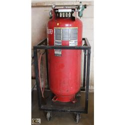 PORTER CABLE PRESSURIZED AIR HOLDING TANK