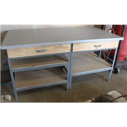 METAL SHOP WORKBENCH
