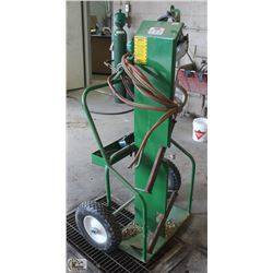 OXY ACETYLENE CART, HOSE & TORCH ONLY
