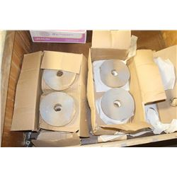 2 BOXES OF MASTIC TAPE