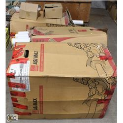 3 BOXES OF PIPE INSULATION & CONNECTORS