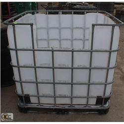 METAL FRAME PLASTIC BIN STORAGE