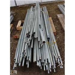 PALLET OF ASSORTED ELECTRICAL CONDUIT