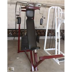 SEATED CHEST & FLY PRESS MACHINE