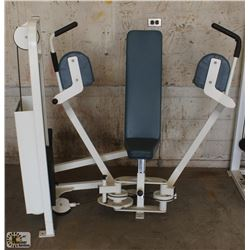 CYBEX CHEST PEC FLY MACHINE