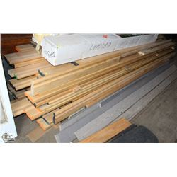 LOT OF MAPLE HANDRAIL