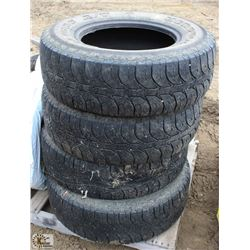 4 HERCULES LT265/70/R17 SUMMER TIRE