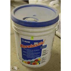 PAIL OF KERALASTIC MORTAR ADDITIVE