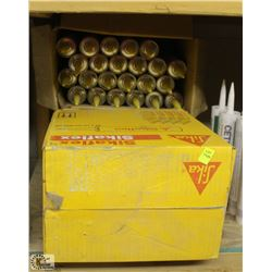 3 BOXES OF SIKAFLEX CONSTRUCTION SEALANT