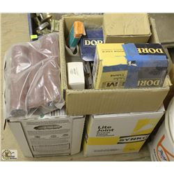 1.5 BOXES OF DRYWALL MUDS & ASSORTED SCREW,