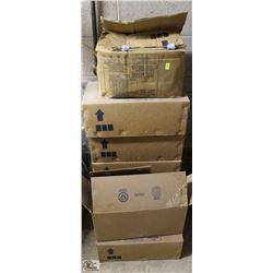 6 FULL BOXES OF 300MM CAM LOCK TIES & 1 FULL