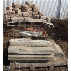 LOT OF ASSORTED BRICKS