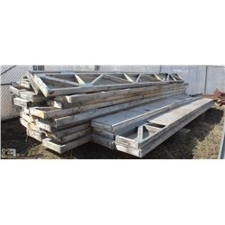 "STACK OF 18"" WOODEN FLOOR JOISTS"