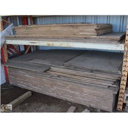2 SECTION OF PLYWOOD